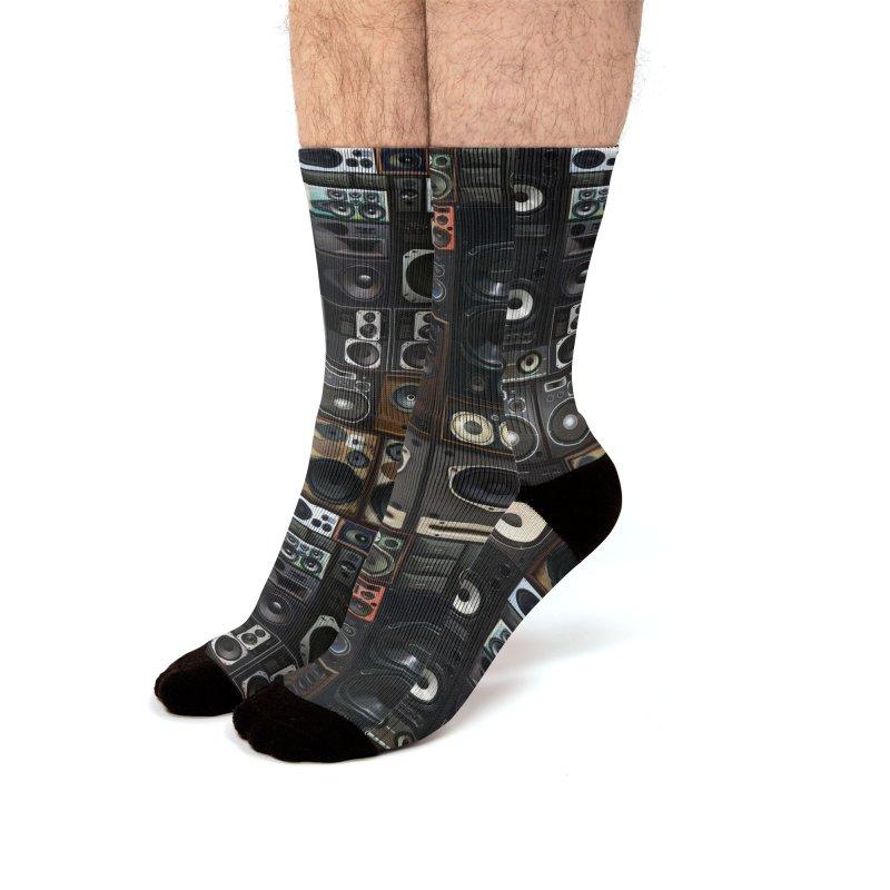 Audio Men's Socks by bulo