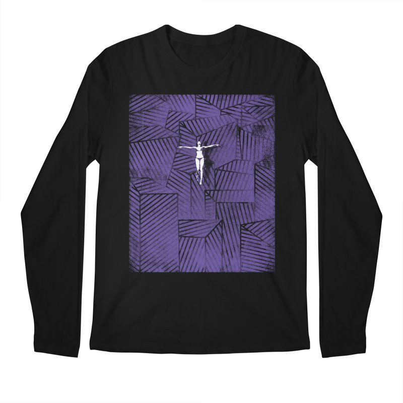 Violet and beyond Men's Longsleeve T-Shirt by bulo