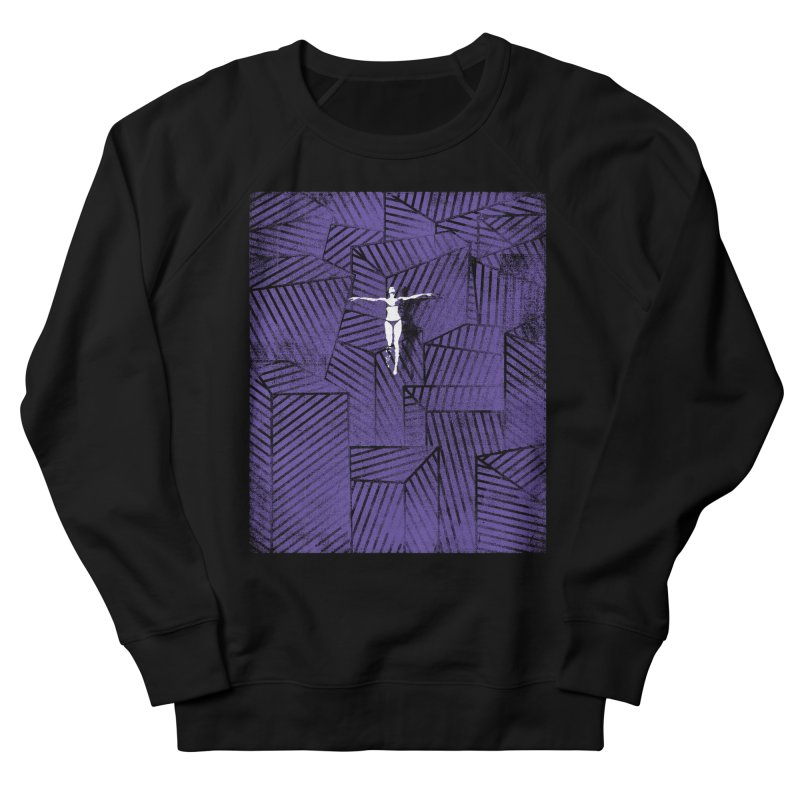 Violet and beyond Men's Sweatshirt by bulo