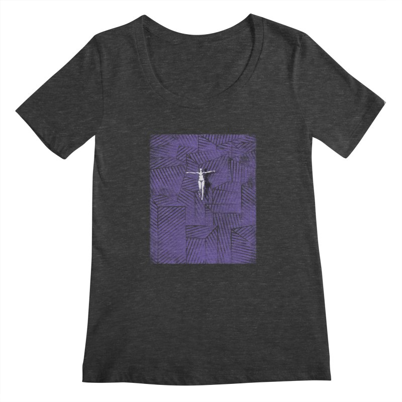 Violet and beyond Women's Scoopneck by bulo