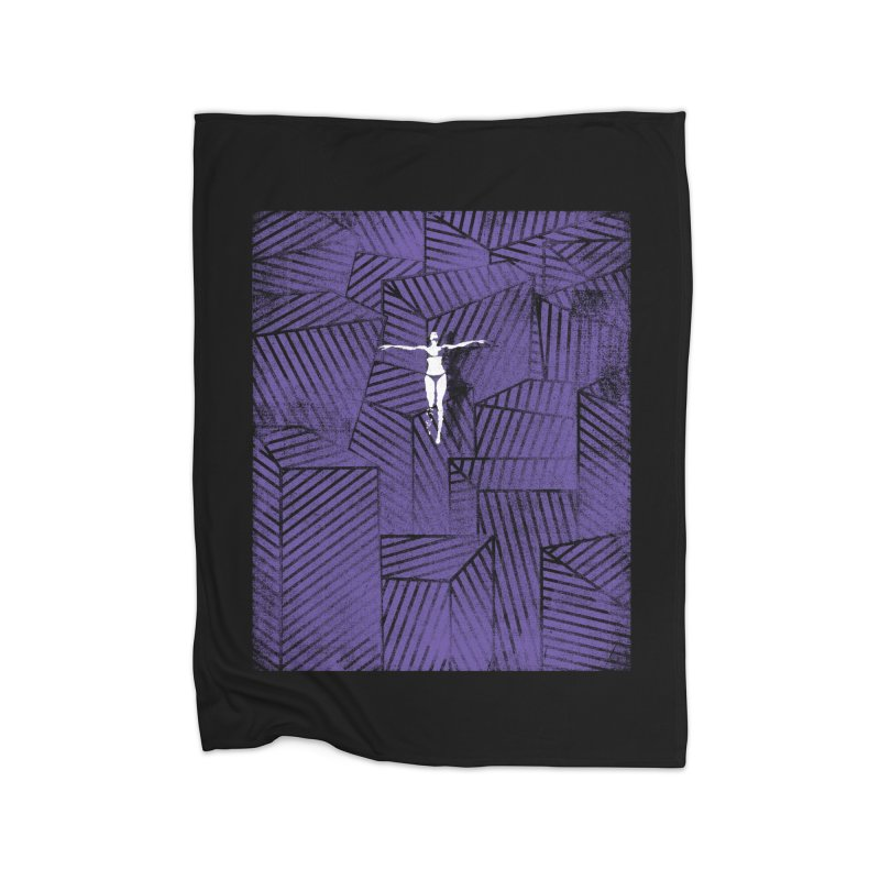 Violet and beyond Home Blanket by bulo