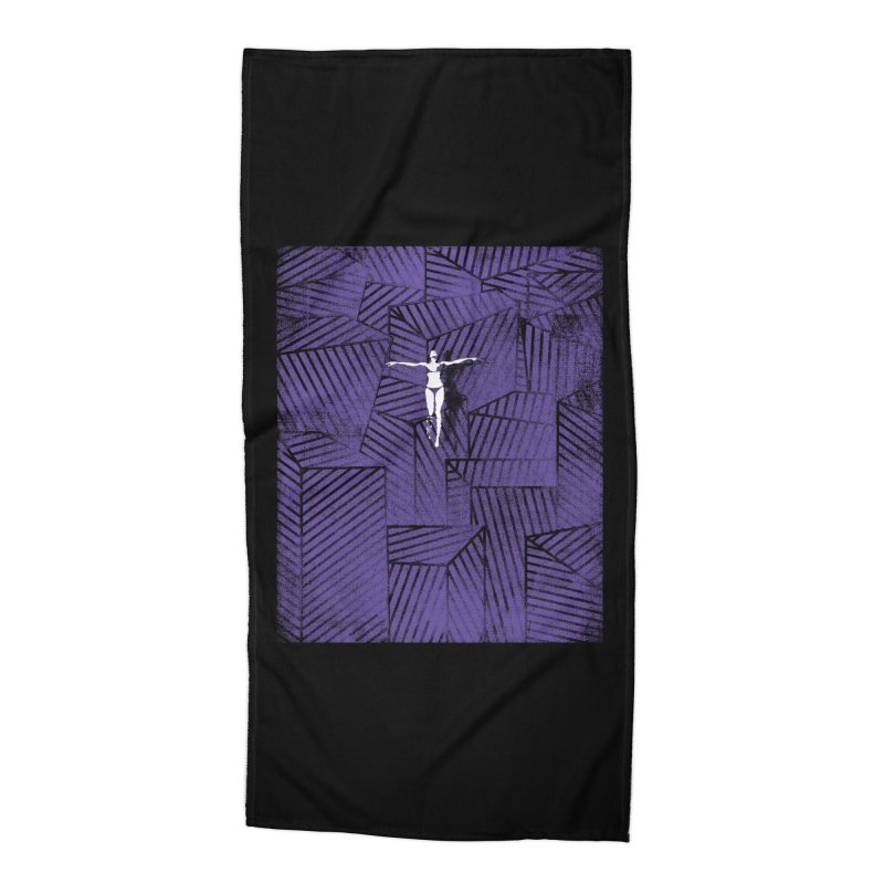 Violet and beyond Accessories Beach Towel by bulo