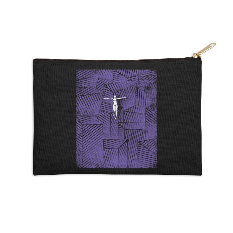 Violet and beyond Accessories Zip Pouch by bulo