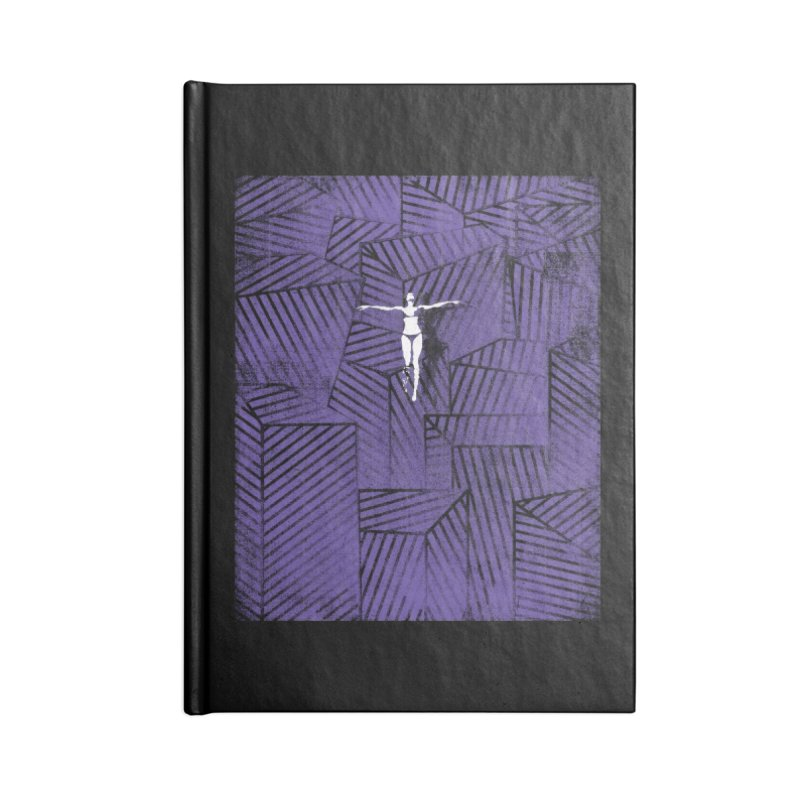 Violet and beyond Accessories Notebook by bulo