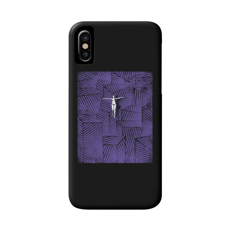 Violet and beyond Accessories Phone Case by bulo