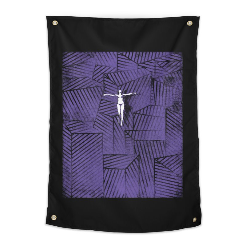 Violet and beyond Home Tapestry by bulo