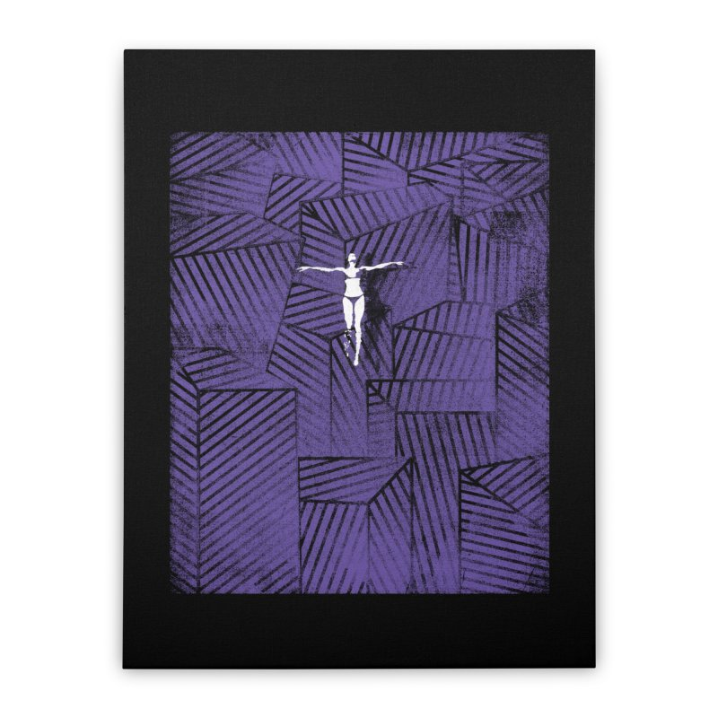 Violet and beyond Home Stretched Canvas by bulo