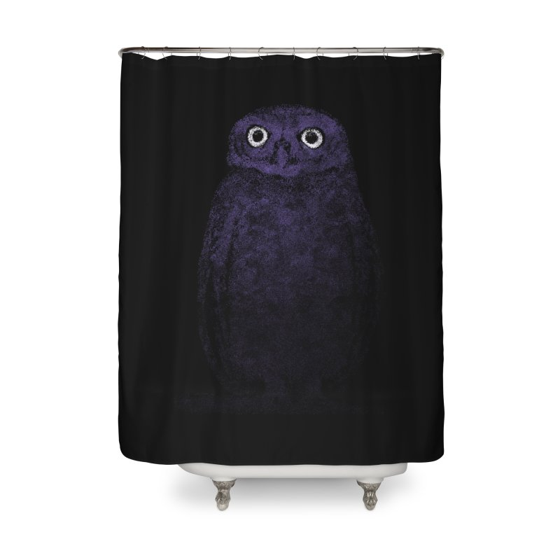 Watcher UV Home Shower Curtain by bulo
