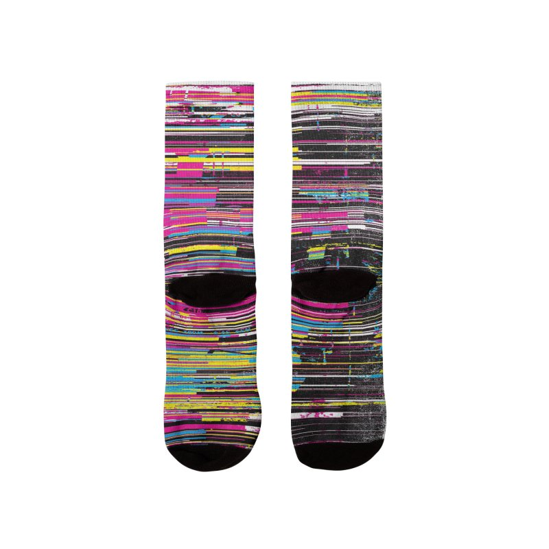 Fusion CMYK Men's Socks by bulo