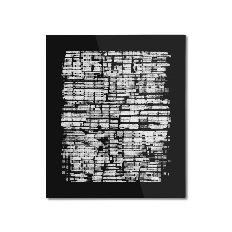Crypto-Z Home Mounted Aluminum Print by bulo