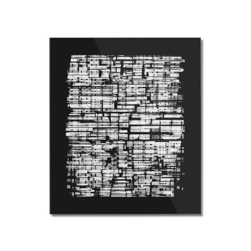 Crypto-Z Home Mounted Acrylic Print by bulo