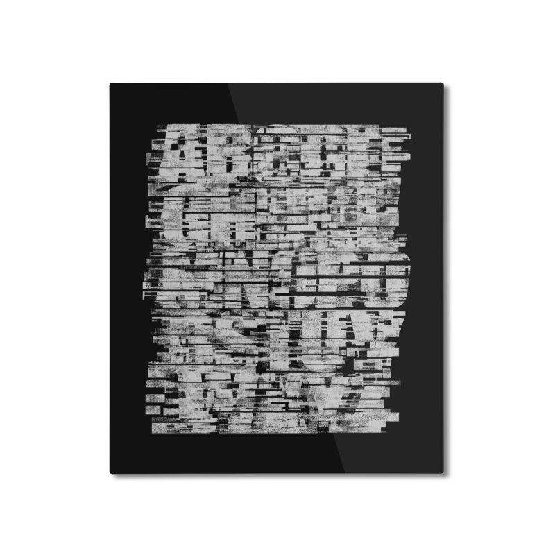 Crypto-W Home Mounted Aluminum Print by bulo