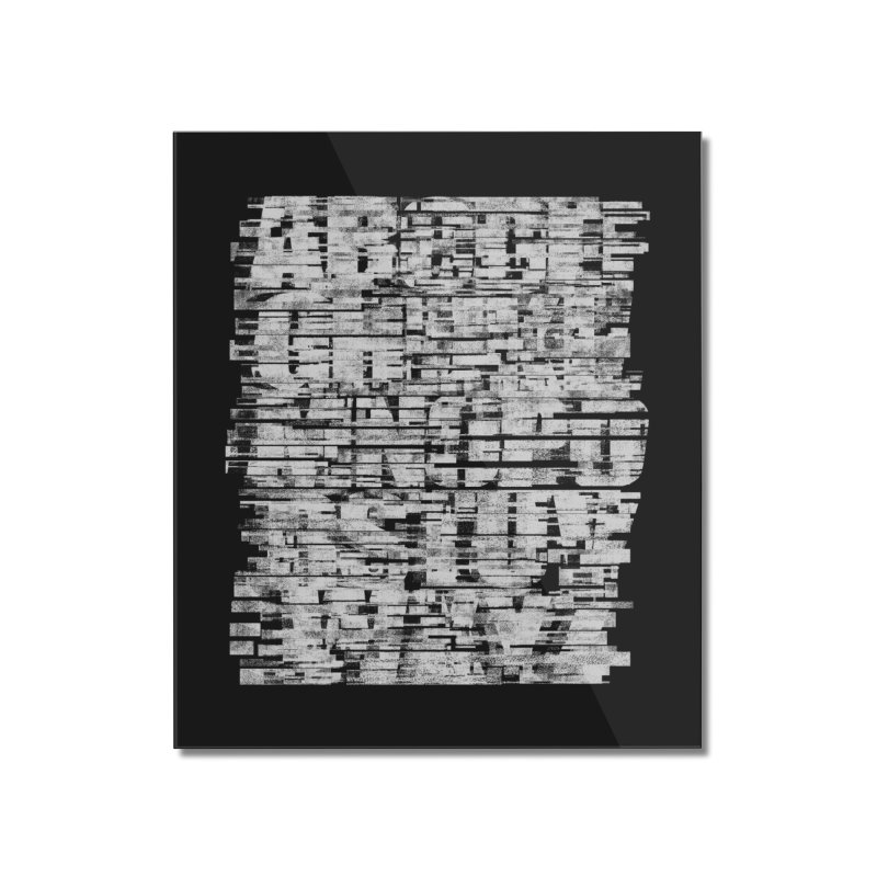 Crypto-W Home Mounted Acrylic Print by bulo