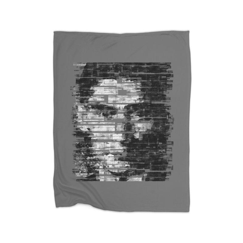 Kafka Home Fleece Blanket by bulo