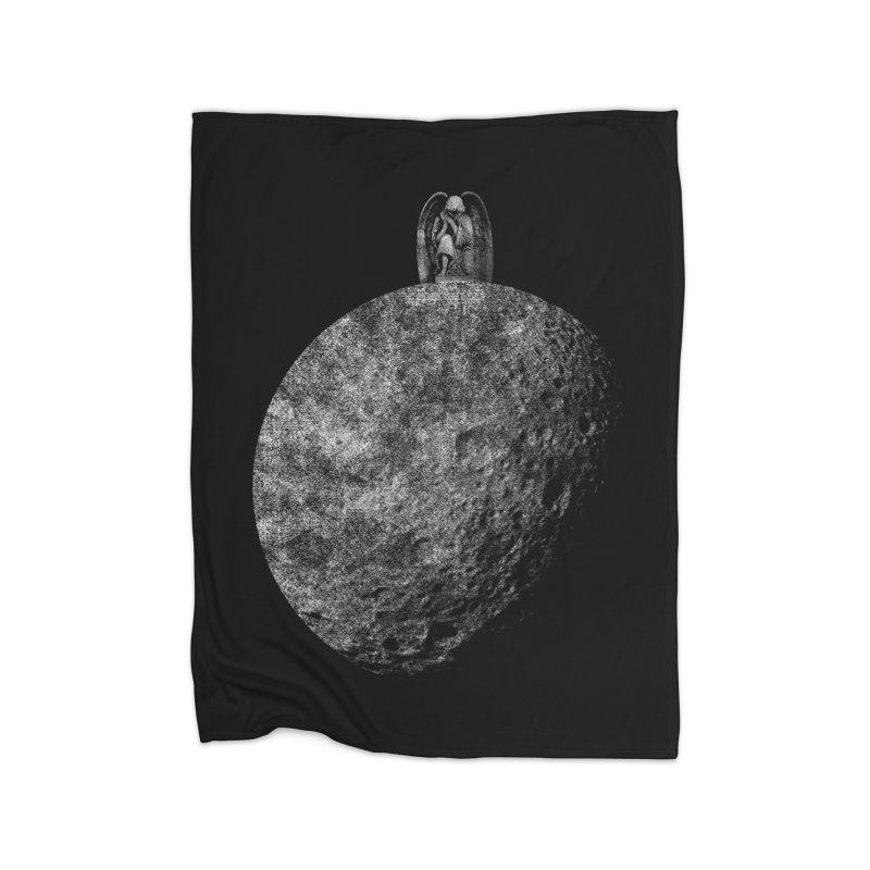 Light and Dark Home Fleece Blanket by bulo