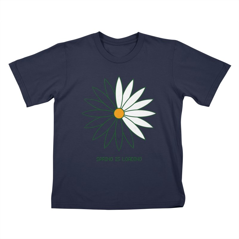 Spring is loading Kids T-Shirt by bulo