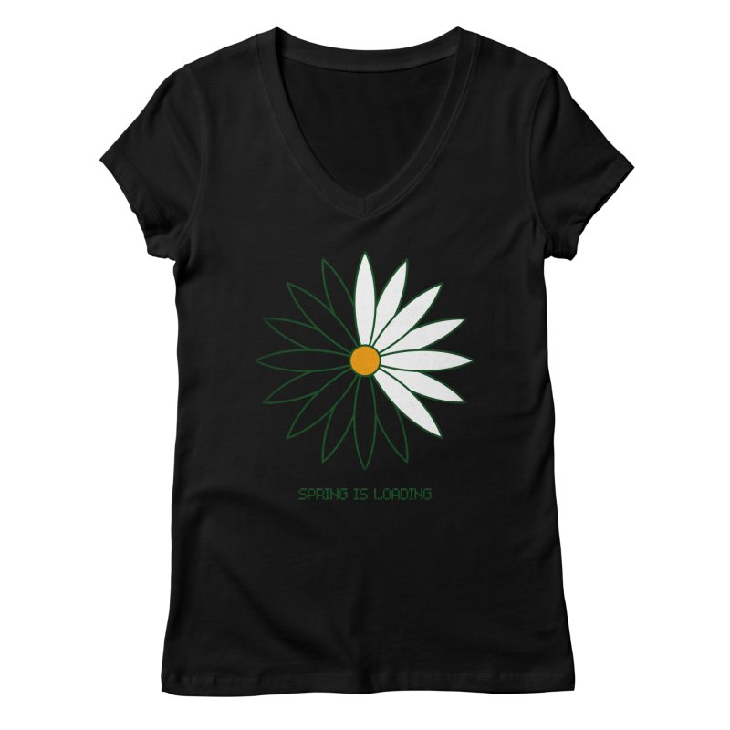 Spring is loading Women's V-Neck by bulo
