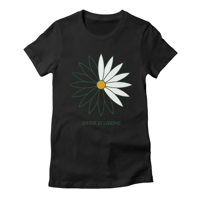 Spring is loading Women's Fitted T-Shirt by bulo