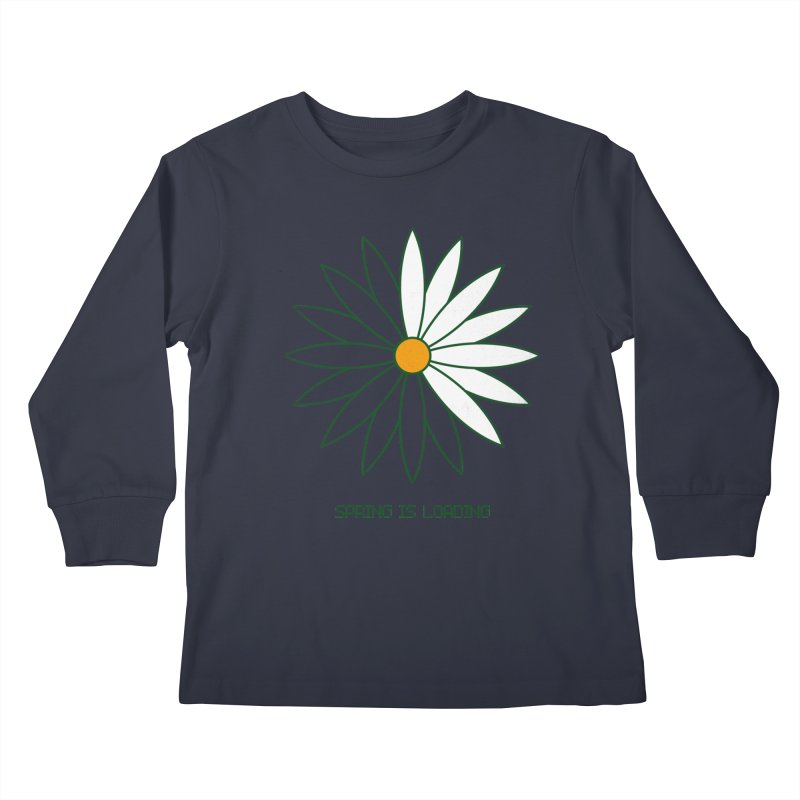 Spring is loading Kids Longsleeve T-Shirt by bulo