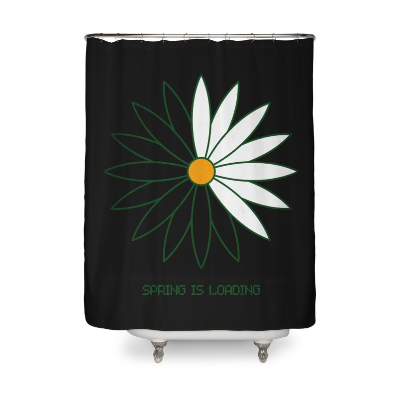 Spring is loading Home Shower Curtain by bulo
