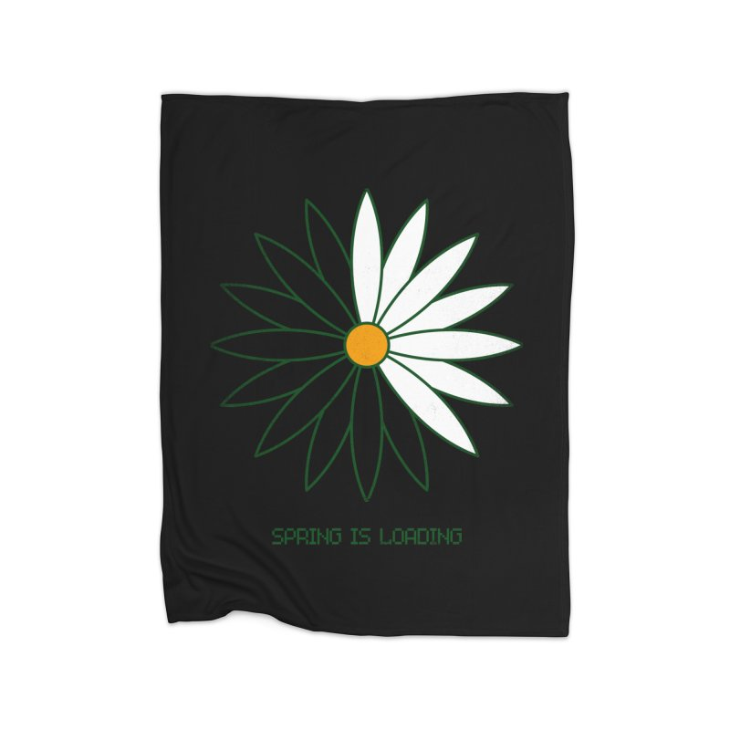 Spring is loading Home Blanket by bulo