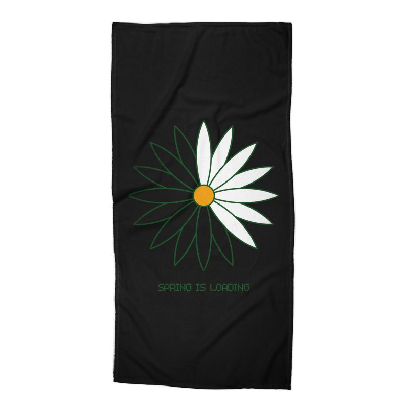 Spring is loading Accessories Beach Towel by bulo