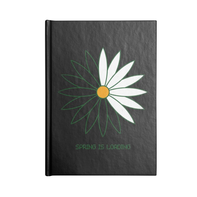 Spring is loading Accessories Notebook by bulo
