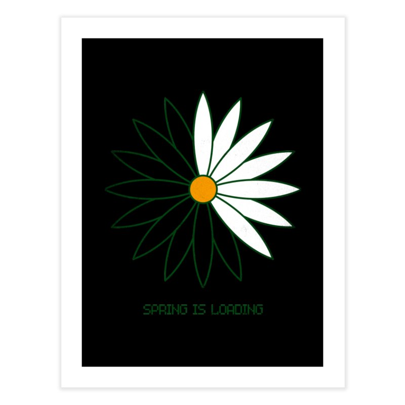 Spring is loading Home Fine Art Print by bulo