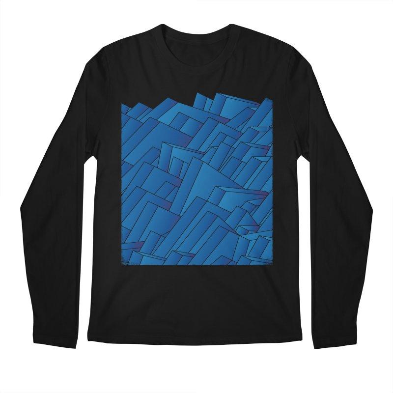 Waves Men's Longsleeve T-Shirt by bulo