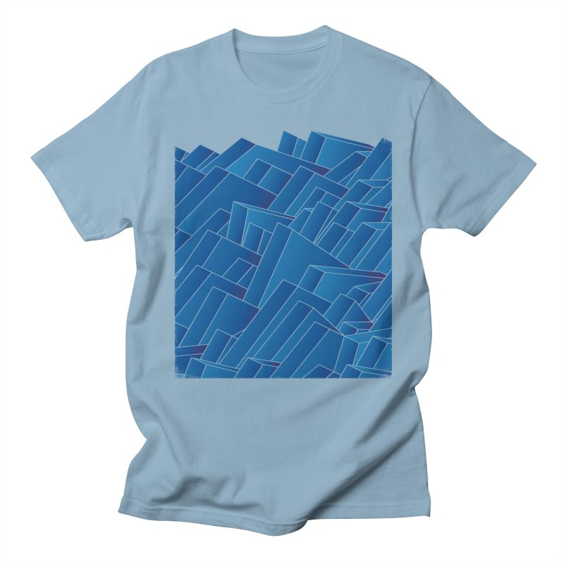 Waves Men's T-Shirt by bulo
