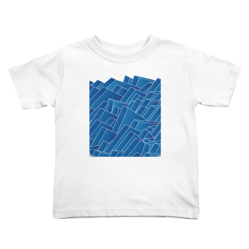 Waves Kids Toddler T-Shirt by bulo