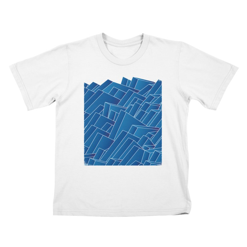 Waves Kids T-Shirt by bulo
