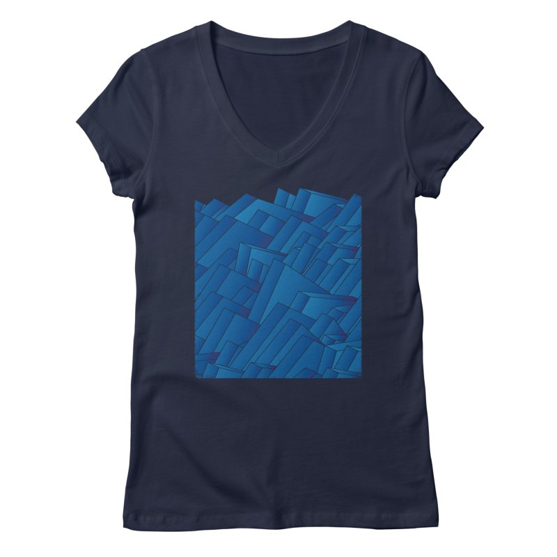 Waves Women's V-Neck by bulo