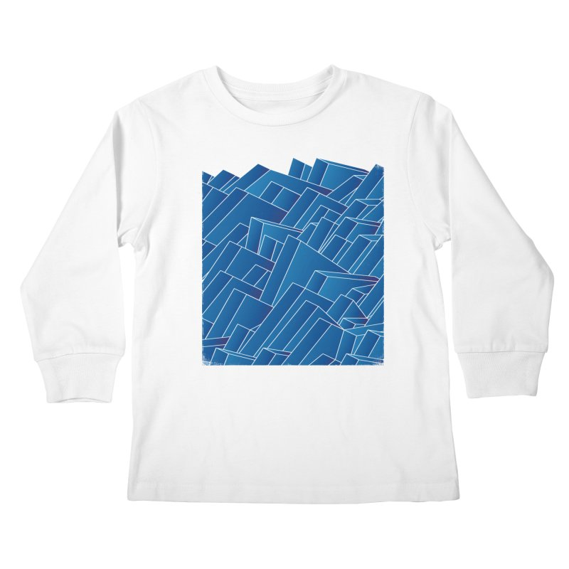 Waves Kids Longsleeve T-Shirt by bulo