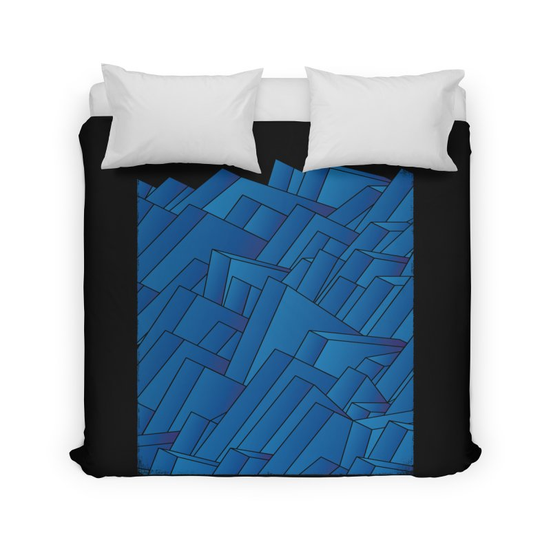Waves Home Duvet by bulo