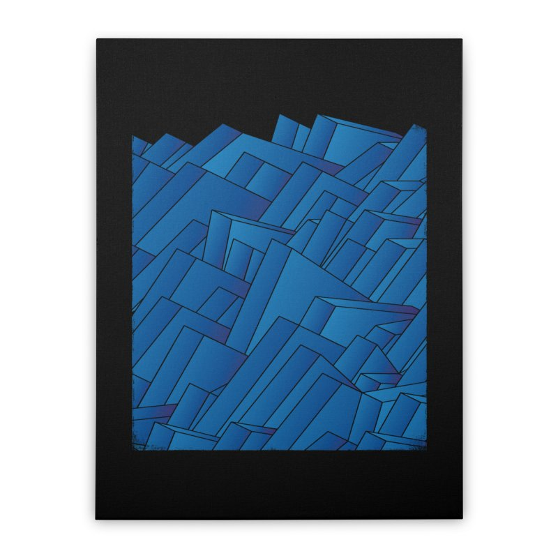 Waves Home Stretched Canvas by bulo