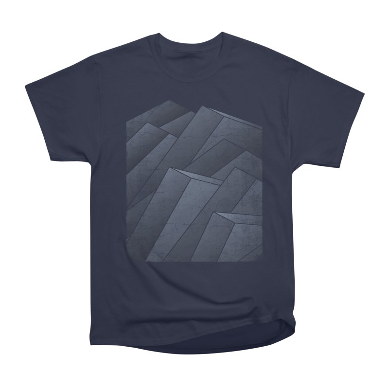 Isometric Waves Women's Classic Unisex T-Shirt by bulo