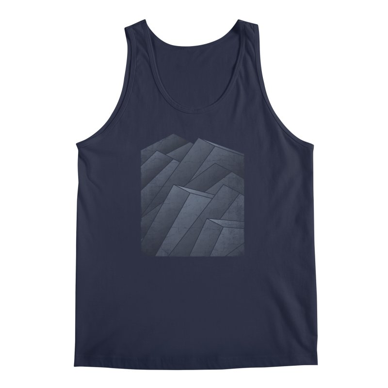 Isometric Waves Men's Tank by bulo