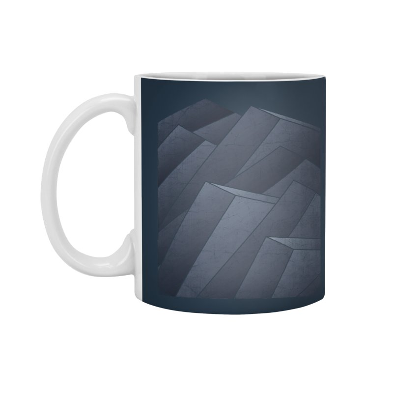 Isometric Waves Accessories Mug by bulo