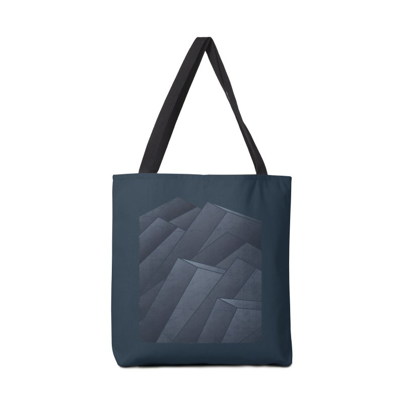 Isometric Waves Accessories Bag by bulo