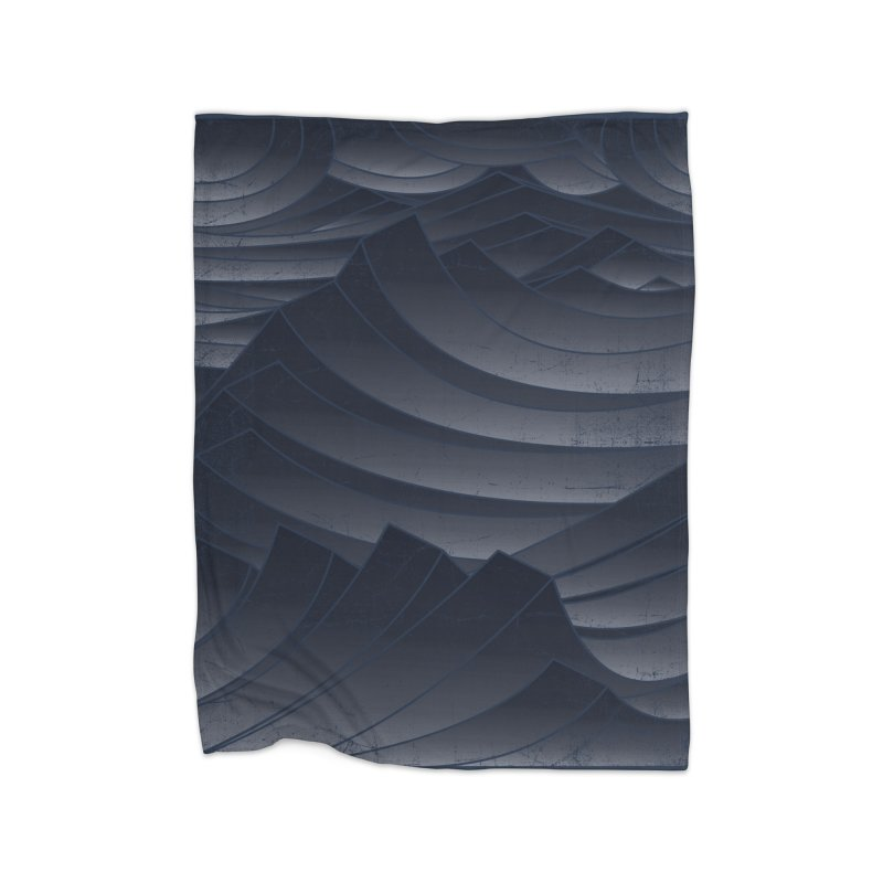 Waves Home Blanket by bulo