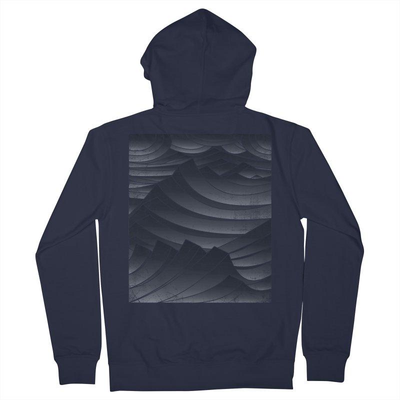 Waves Men's Zip-Up Hoody by bulo