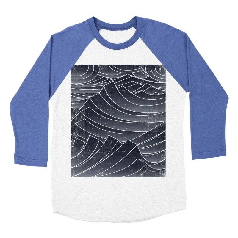 Waves Women's Baseball Triblend T-Shirt by bulo