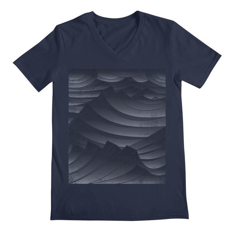Waves Men's V-Neck by bulo