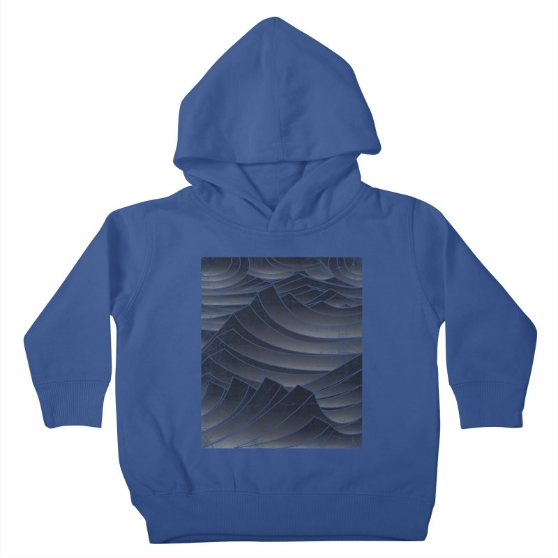 Waves Kids Toddler Pullover Hoody by bulo