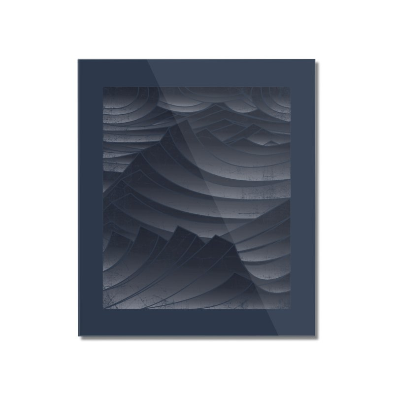 Waves Home Mounted Acrylic Print by bulo