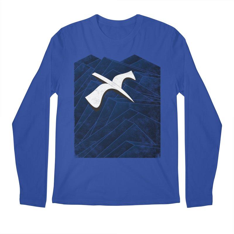 Isometric Blues Men's Longsleeve T-Shirt by bulo