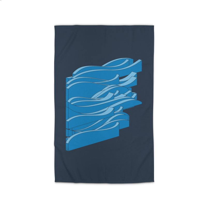Isometric Waves Home Rug by bulo