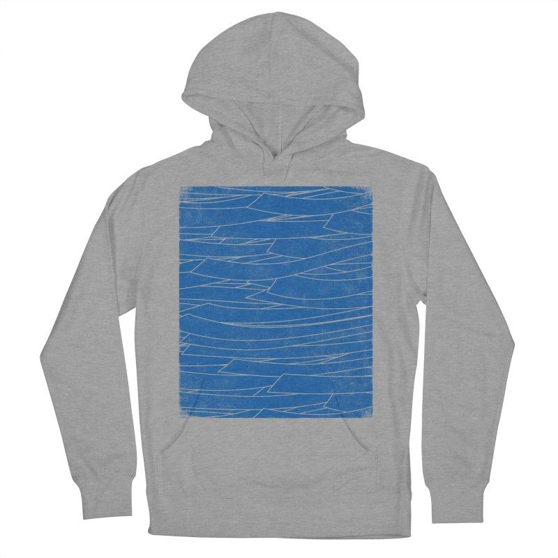 Deep Blue Women's Pullover Hoody by bulo