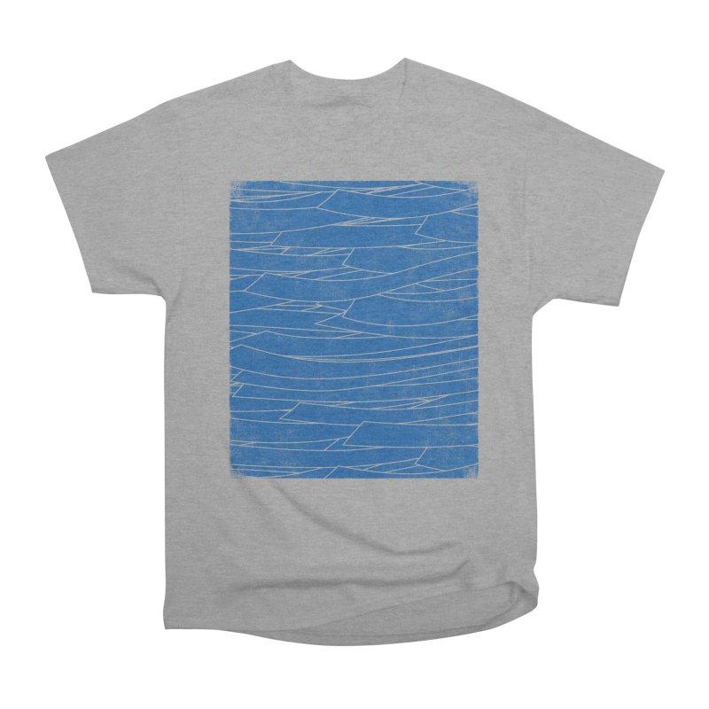 Deep Blue Women's Classic Unisex T-Shirt by bulo